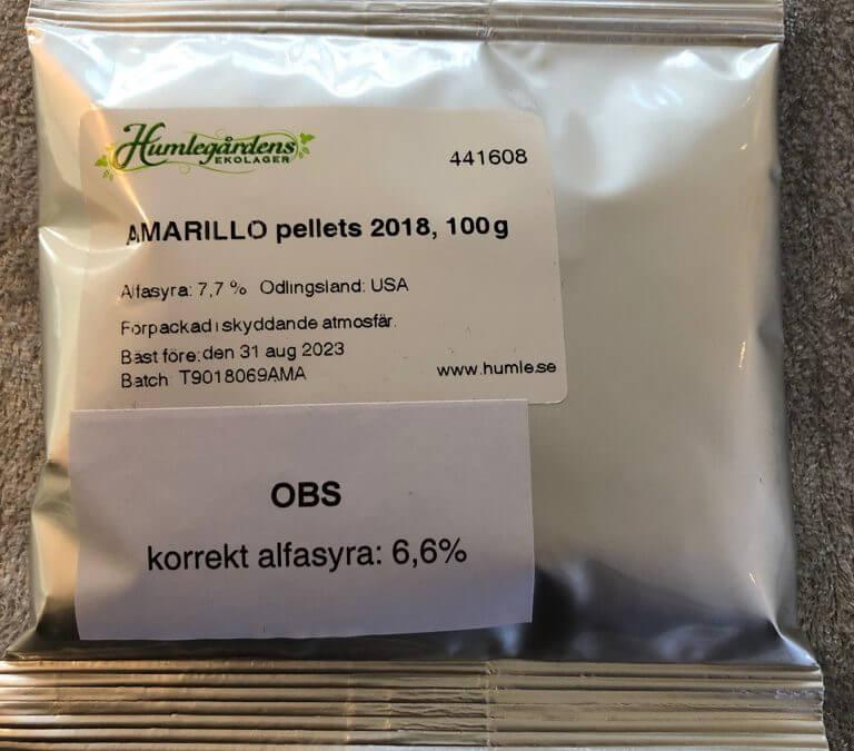 Nyt Samarbejde med Humlegaarden i Sverige